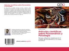 Обложка Artículos científicos sobre Psicoanálisis y Psicología