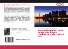 Buchcover von Empoderamiento de la capacidad local y medios de vida rurales