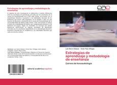 Bookcover of Estrategias de aprendizaje y metodología de enseñanza