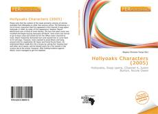 Bookcover of Hollyoaks Characters (2005)