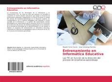 Capa do livro de Entrenamiento en Informática Educativa