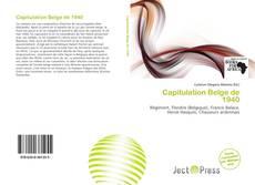 Bookcover of Capitulation Belge de 1940