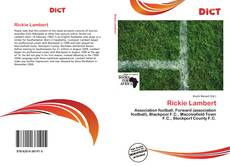 Bookcover of Rickie Lambert