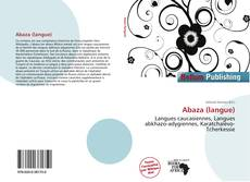 Bookcover of Abaza (langue)