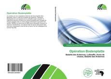 Bookcover of Opération Bodenplatte