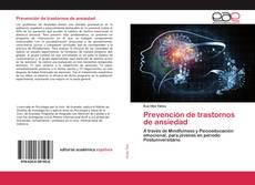Couverture de Prevención de trastornos de ansiedad