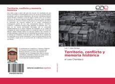 Territorio, conflicto y memoria histórica kitap kapağı