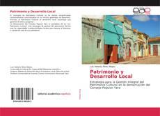 Portada del libro de Patrimonio y Desarrollo Local