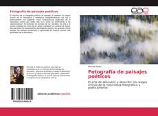 Bookcover of Fotografía de paisajes poéticos