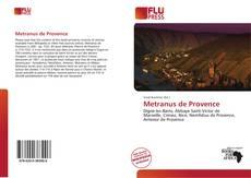 Metranus de Provence kitap kapağı