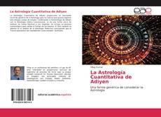 Portada del libro de La Astrología Cuantitativa de Adiyen