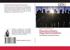 Buchcover von Populismo Penal y Seguridad Ciudadana