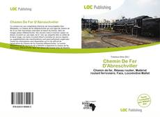 Chemin De Fer D'Abreschviller kitap kapağı