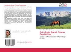 Bookcover of Psicología Social. Temas Pendientes