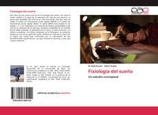 Bookcover of Fisiología del sueño