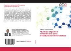 Обложка Química orgánica simplificada para estudiantes universitarios