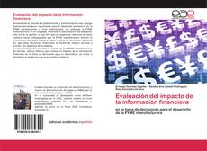 Portada del libro de Evaluación del impacto de la información financiera