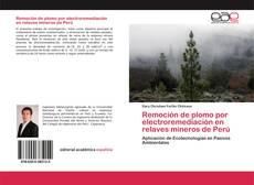 Portada del libro de Remoción de plomo por electroremediación en relaves mineros de Perú