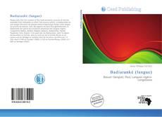 Bookcover of Badiaranké (langue)