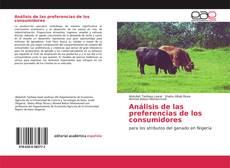 Bookcover of Análisis de las preferencias de los consumidores
