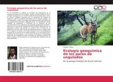 Portada del libro de Ecología geoquímica de los pares de ungulados