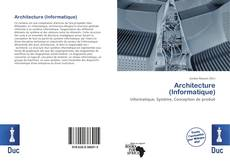 Capa do livro de Architecture (Informatique)