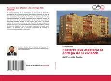 Bookcover of Factores que afectan a la entrega de la vivienda