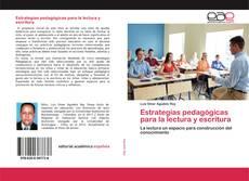 Обложка Estrategias pedagógicas para la lectura y escritura