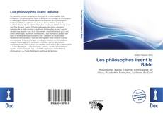 Copertina di Les philosophes lisent la Bible