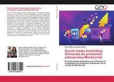 Portada del libro de Social media marketing. Demanda de productos artesanales Montecristi