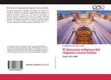 Portada del libro de El discurso religioso del régimen cívico-militar