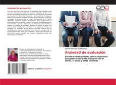 Ansiedad de evaluación kitap kapağı