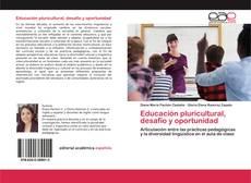 Copertina di Educación pluricultural, desafío y oportunidad