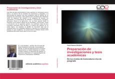 Portada del libro de Preparación de investigaciones y tesis académicas