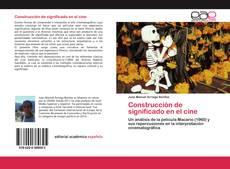 Bookcover of Construcción de significado en el cine