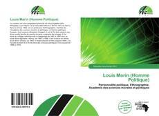 Borítókép a  Louis Marin (Homme Politique) - hoz