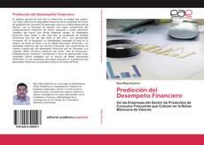 Capa do livro de Predicción del Desempeño Financiero