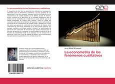 Обложка La econometría de los fenómenos cualitativos