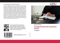 Обложка Fundamentos de la justicia penal