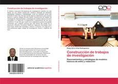 Copertina di Construcción de trabajos de investigación