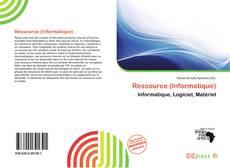 Couverture de Ressource (Informatique)