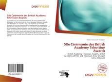 58e Cérémonie des British Academy Television Awards kitap kapağı