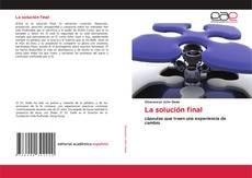 Bookcover of La solución final