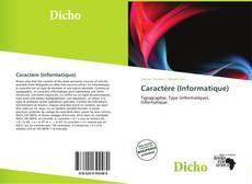 Caractère (Informatique)的封面