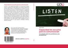Capacidad de escucha para la comunicación的封面