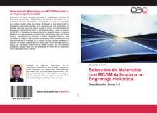 Portada del libro de Selección de Materiales con MCDM Aplicado a un Engranaje Helicoidal