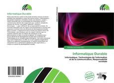Capa do livro de Informatique Durable
