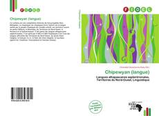 Bookcover of Chipewyan (langue)