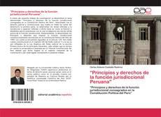 """""""Principios y derechos de la función jurisdiccional Peruana""""的封面"""
