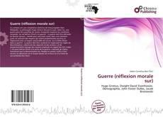 Guerre (réflexion morale sur) kitap kapağı